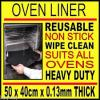 Click this image to access Oven baking & pizza tray teflon nonstick liner 50x40cm frozen pizza tastes real